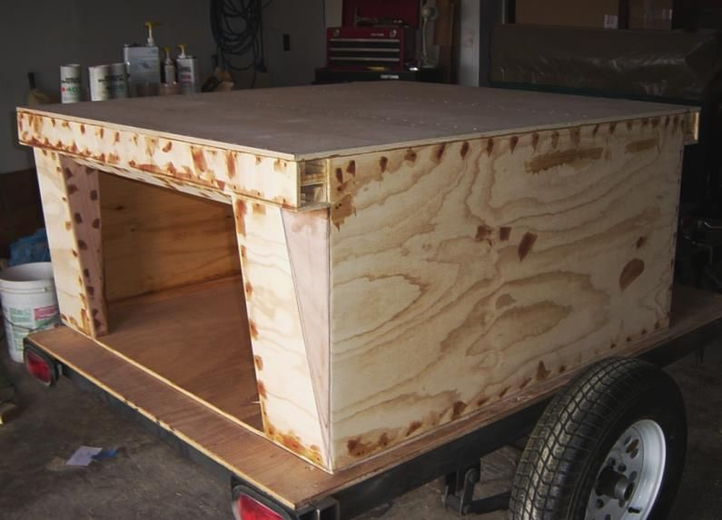 Compact Camping Concepts Trailer Storage Storage Diy