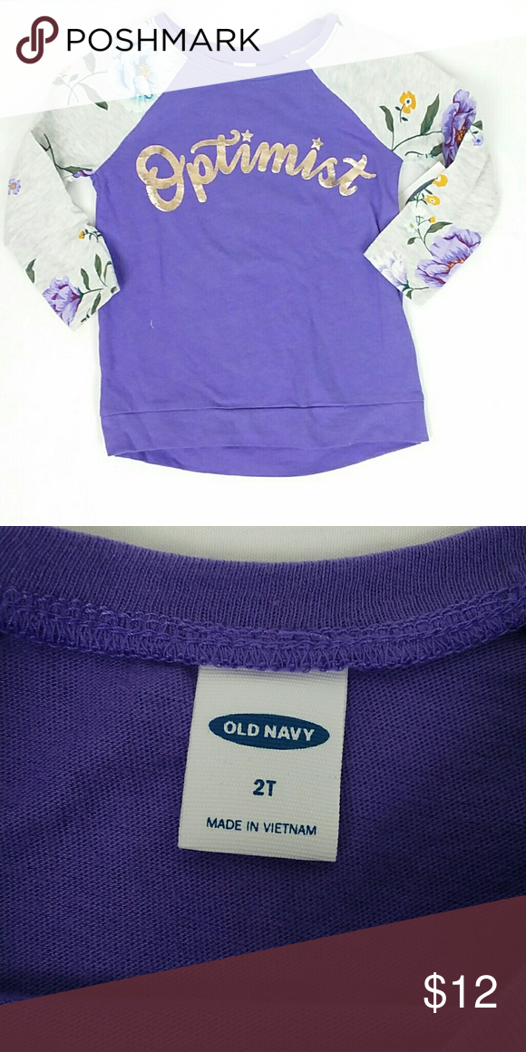 OLD NAVY GIRLS  SHORTS 2T  PURPLE FLORAL POLYESTER BLEND