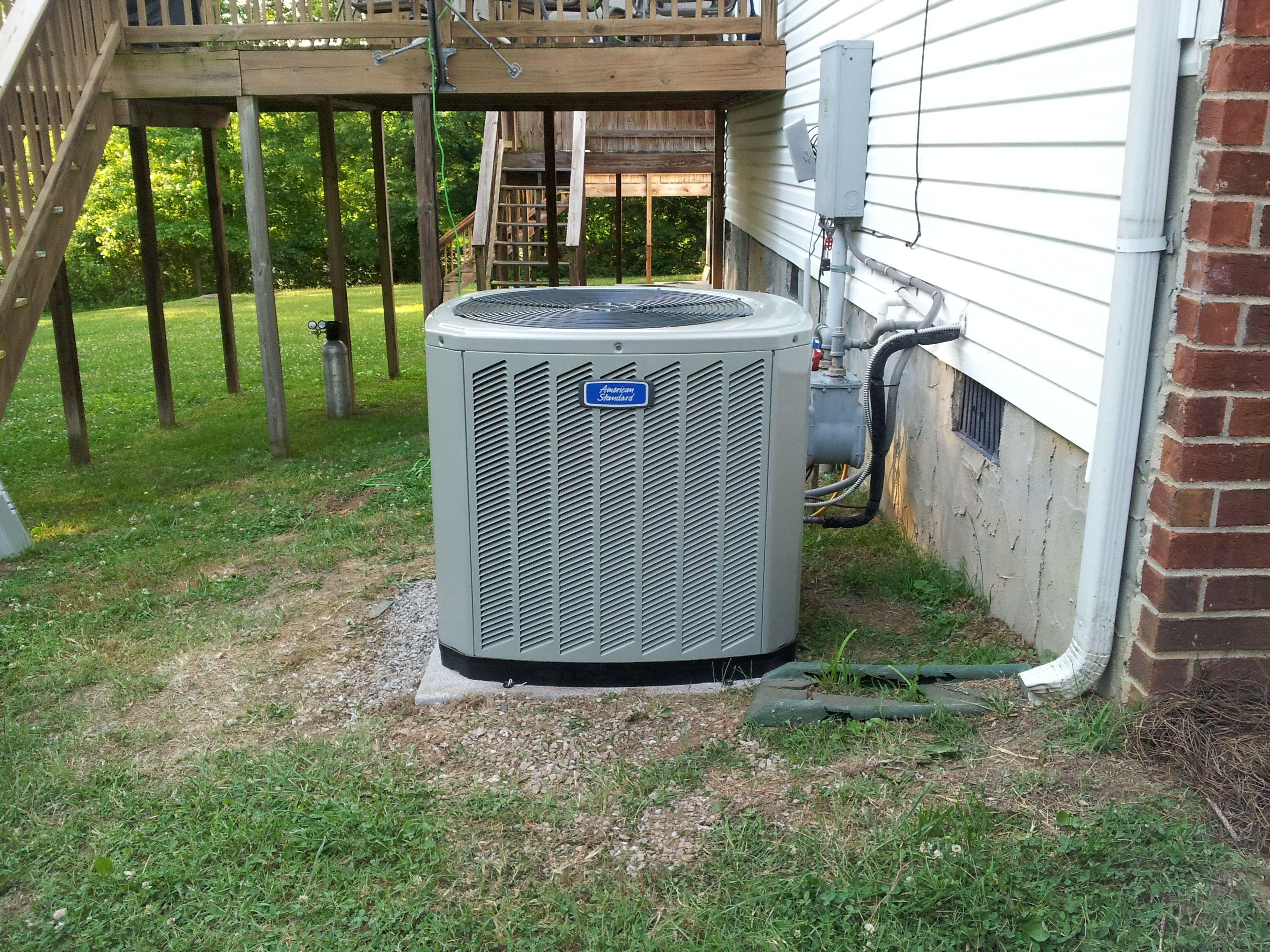 Residential Installation - American Standard split heat pump