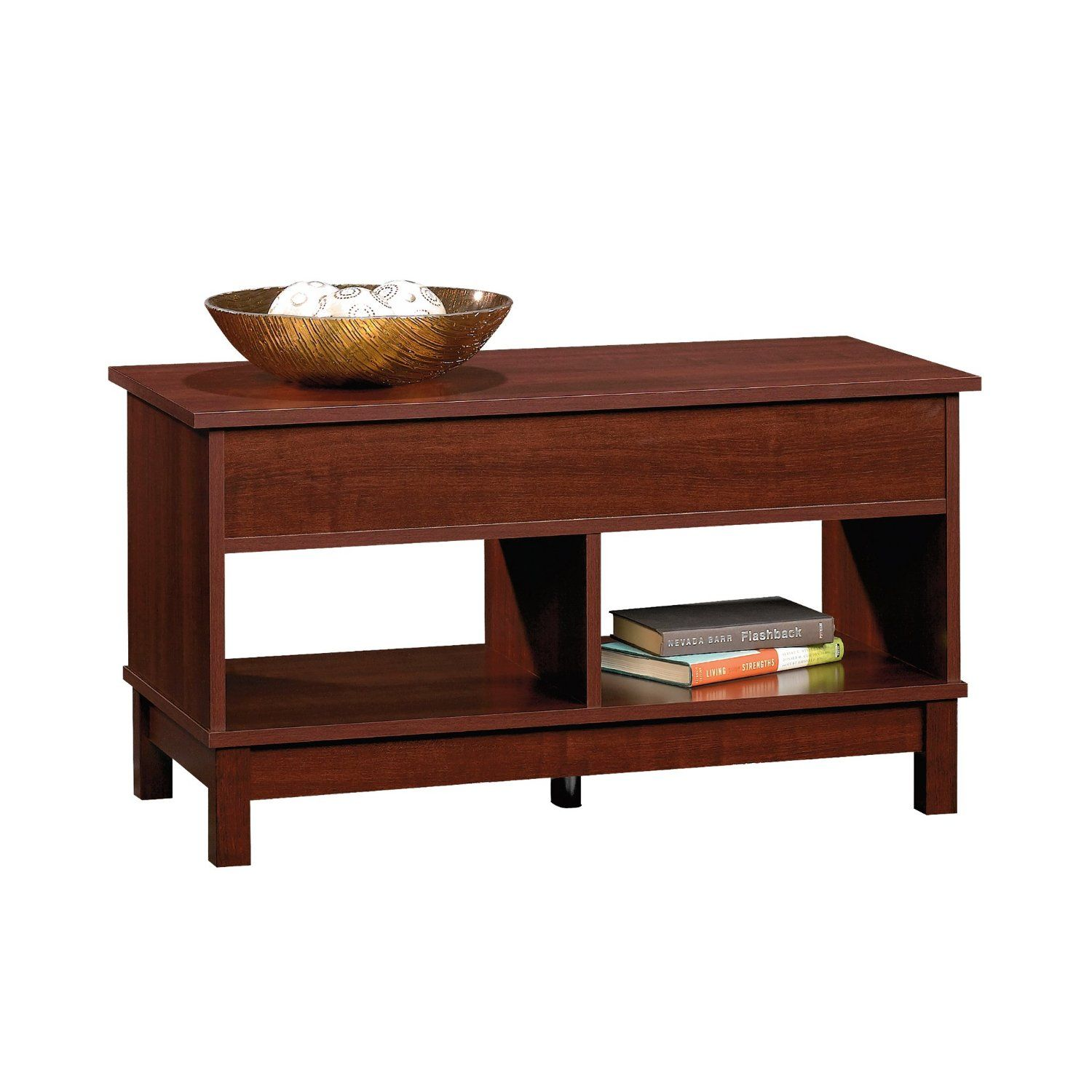 Amazoncom Sauder Kendall Square Lift Top Coffee Table Select - Kendall coffee table