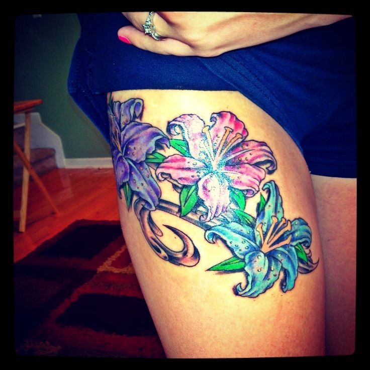 Tattoo Ideas Upper Thigh: Gorgeous-upper-thigh-tattoos.jpg (736×736)