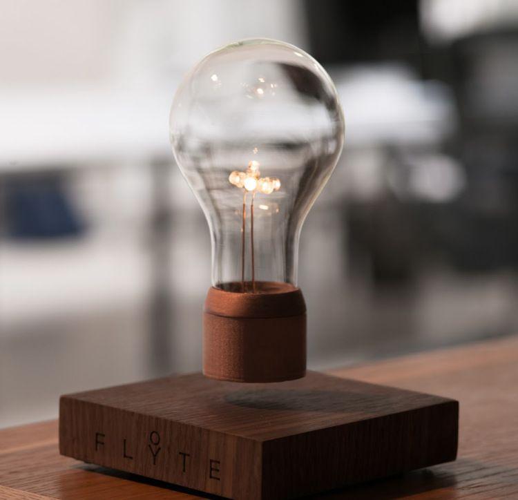 Flyte A Levitating Led Light Bulb Lamp Wireless Light Bulb Lamp Light Bulb