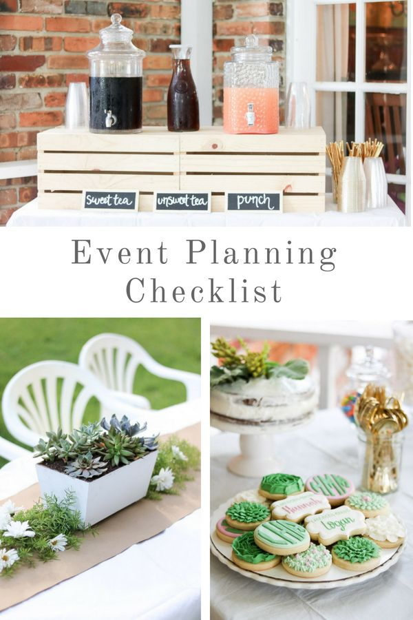 Event planning checklist for a successful outdoor party ...