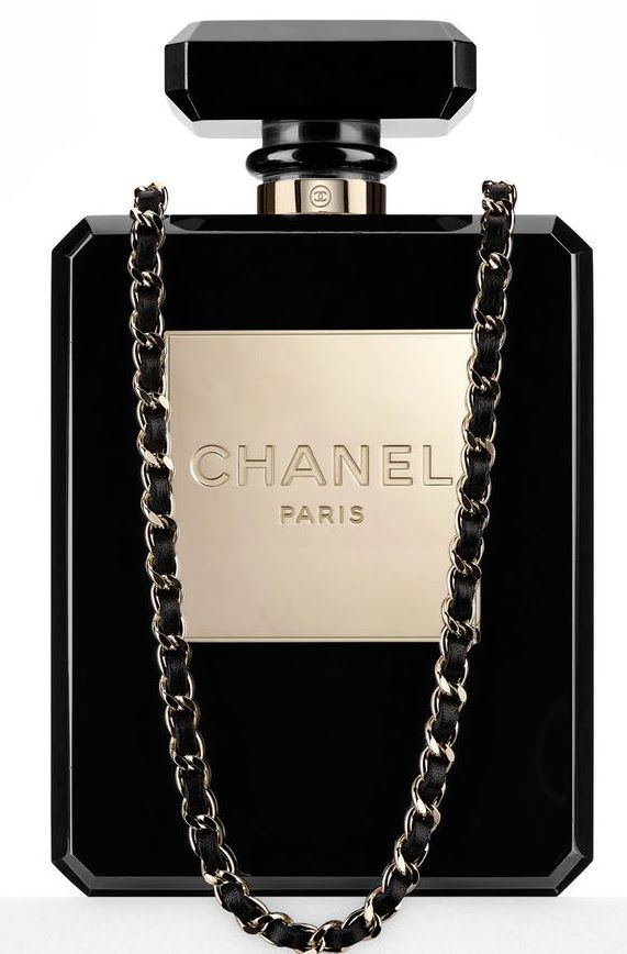 090aa88032e0 Black Clutch bag | Handbags | Pinterest | Chanel, Parfüm and Lange ...