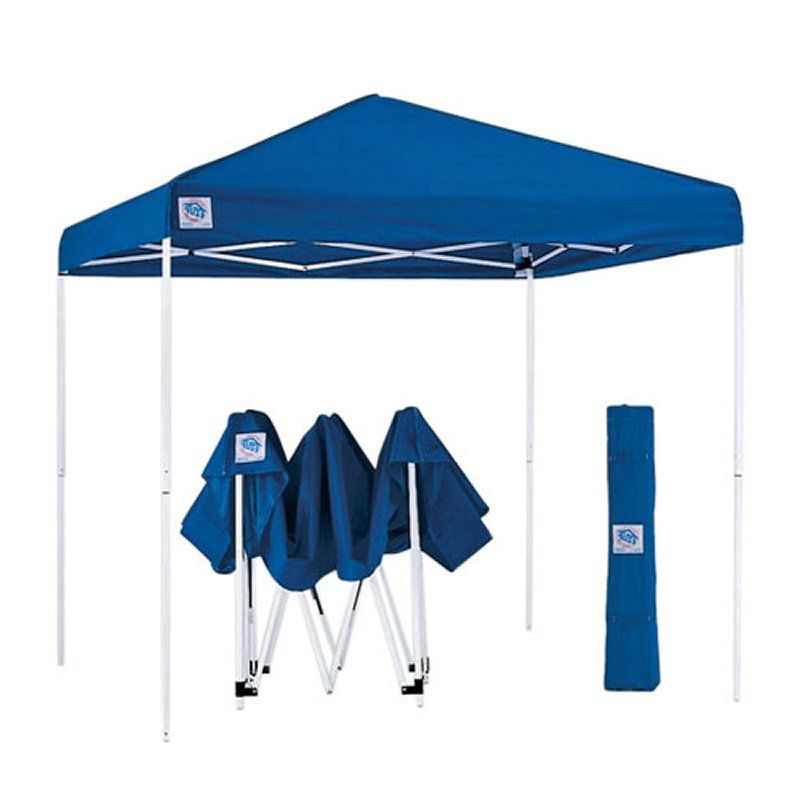 Blue 10 Ft X 10 Ft Easy Up Canopy With Roller Carry Bag Canopy Tent Canopy Instant Canopy