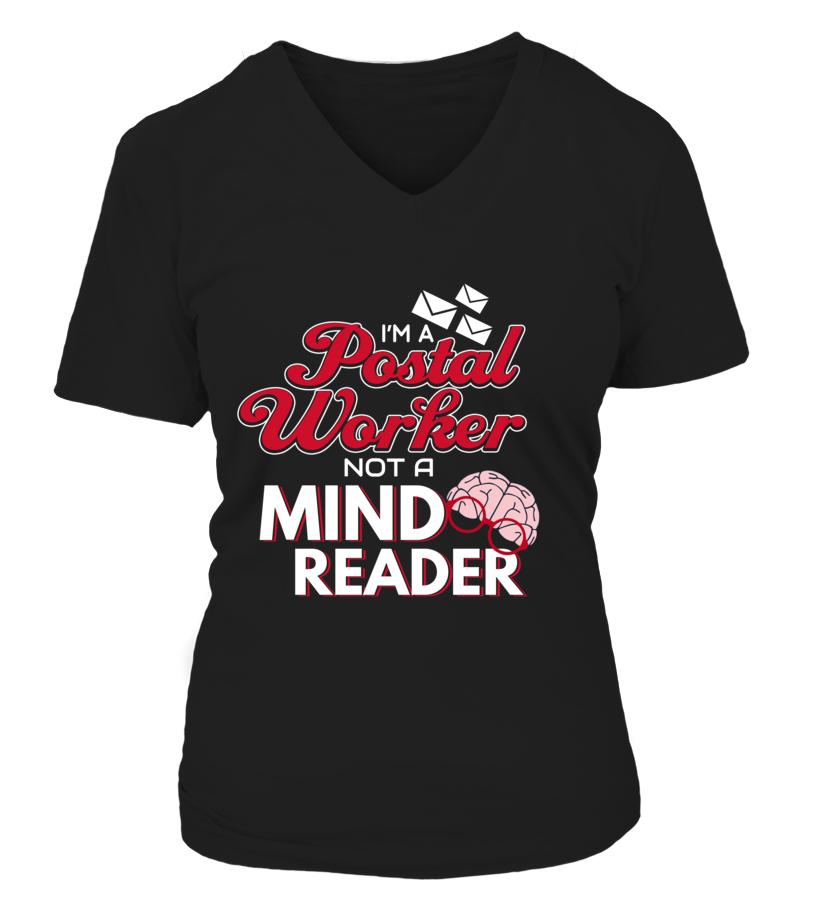 I'M A Postal Worker Not A Mind Reader