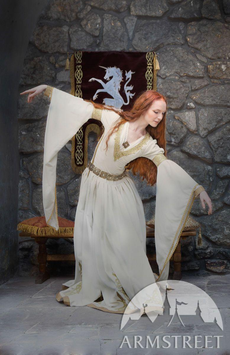 White Velvet Wedding Dress The Accolade Velvet Wedding Dress Medieval Wedding White Wedding Dresses [ 1200 x 778 Pixel ]
