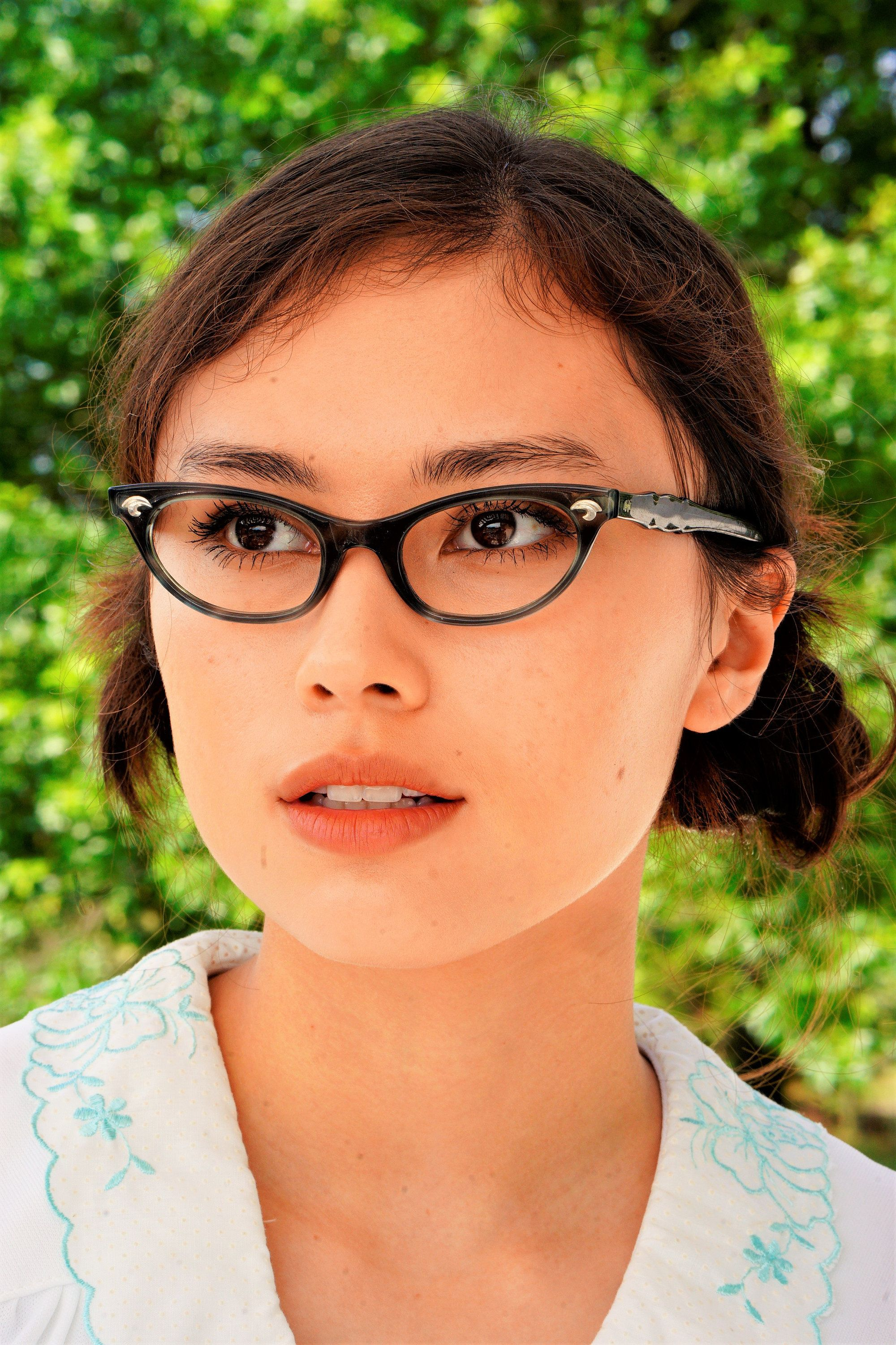 Vintage Cat Eye Glasses 1960's Cateye By Artcraft Made in