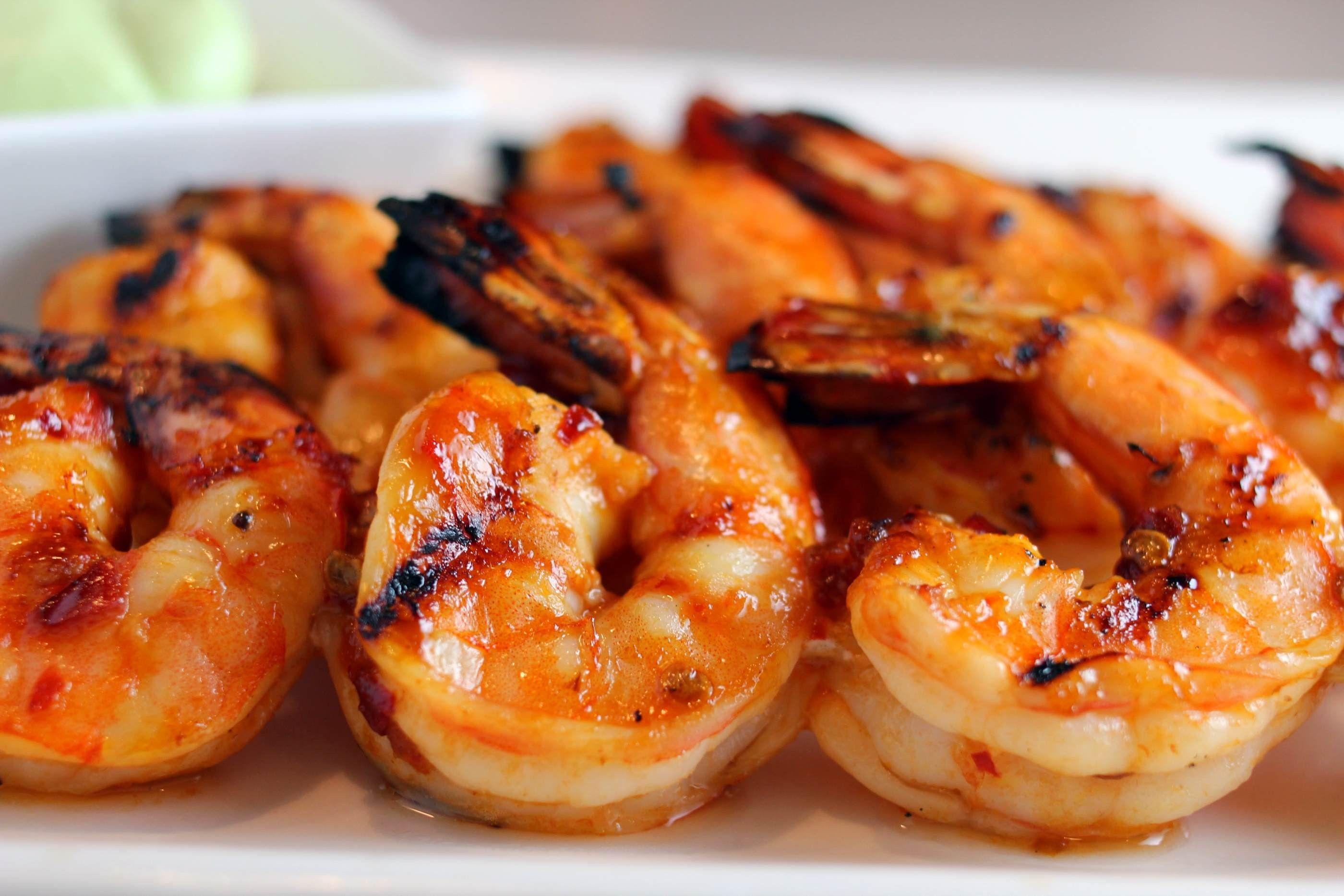 Old Bay & Garlic Grilled Shrimp