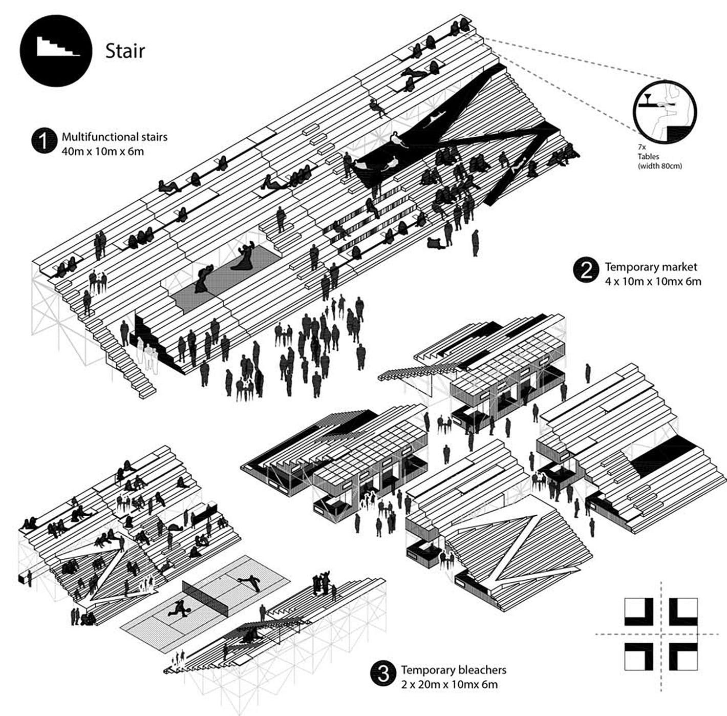 Swap On The River The 1st Prize Winner For Europan 13