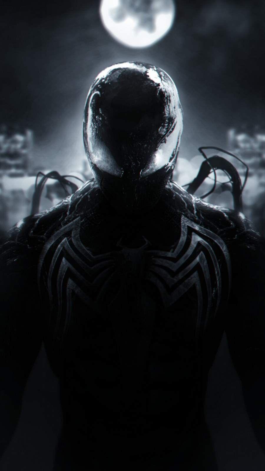 Spider Man Symbiote Iphone Wallpaper Marvel Spiderman Art Symbiote Spiderman Marvel Comics Wallpaper