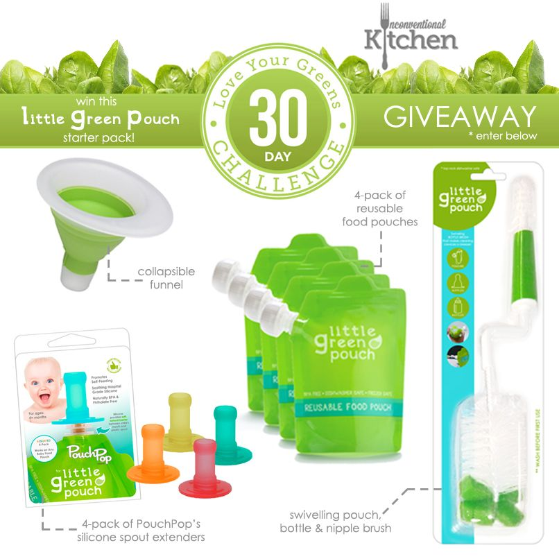 Attrayant Unconventional Kitchen Giveaway. Enter To Win A Little Green Pouch Starter  Kit