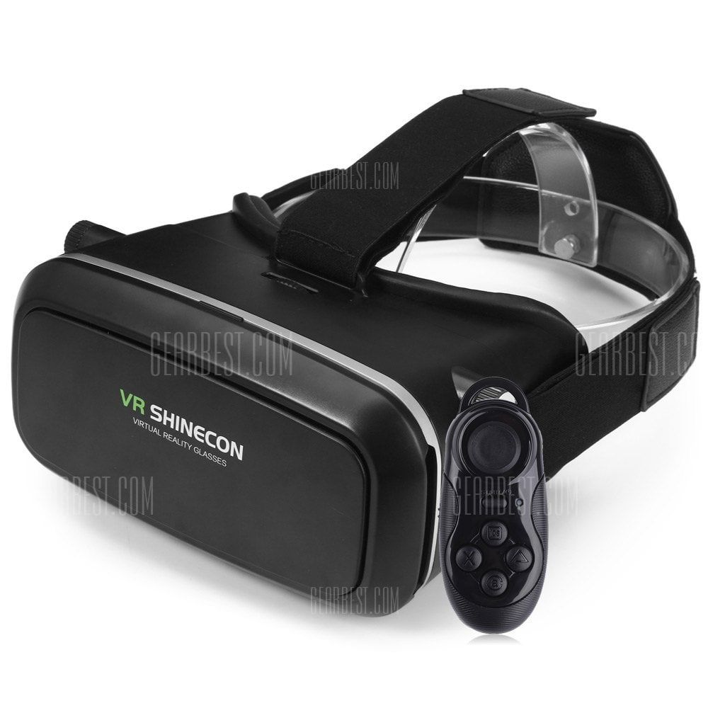 Vr Shinecon 3d Vr Glasses With B100 Remote Control Sale Price Reviews Gearbest Mobile Vr Shinecon Vr Glasses Virtual Reality Glasses