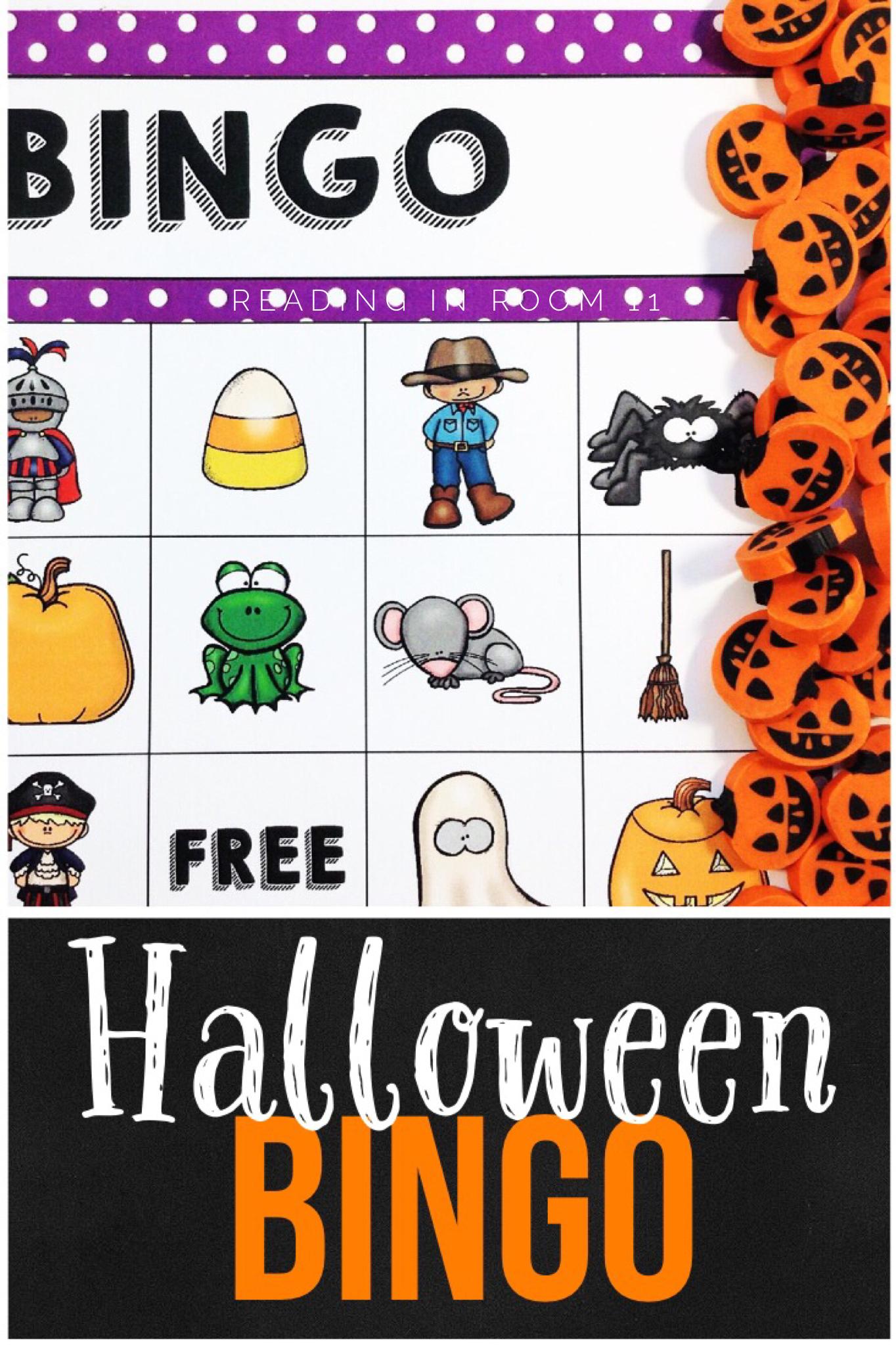 Halloween Bingo With Images