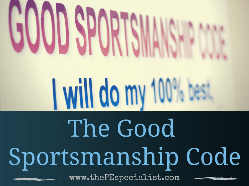 The Good Sportsmanship Code