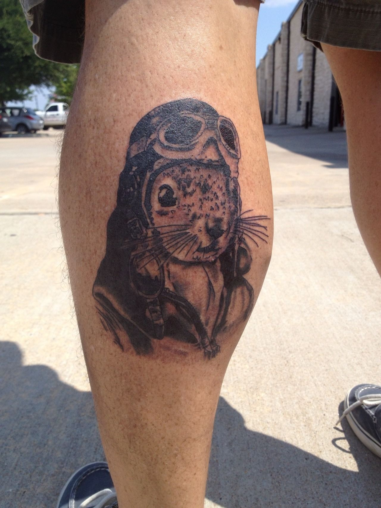 Flying squirrel done by mike carter at inkinc in mckinney