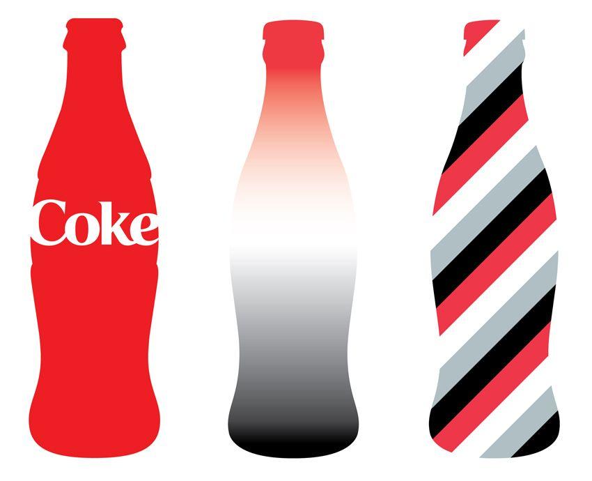 coke bottle pop art