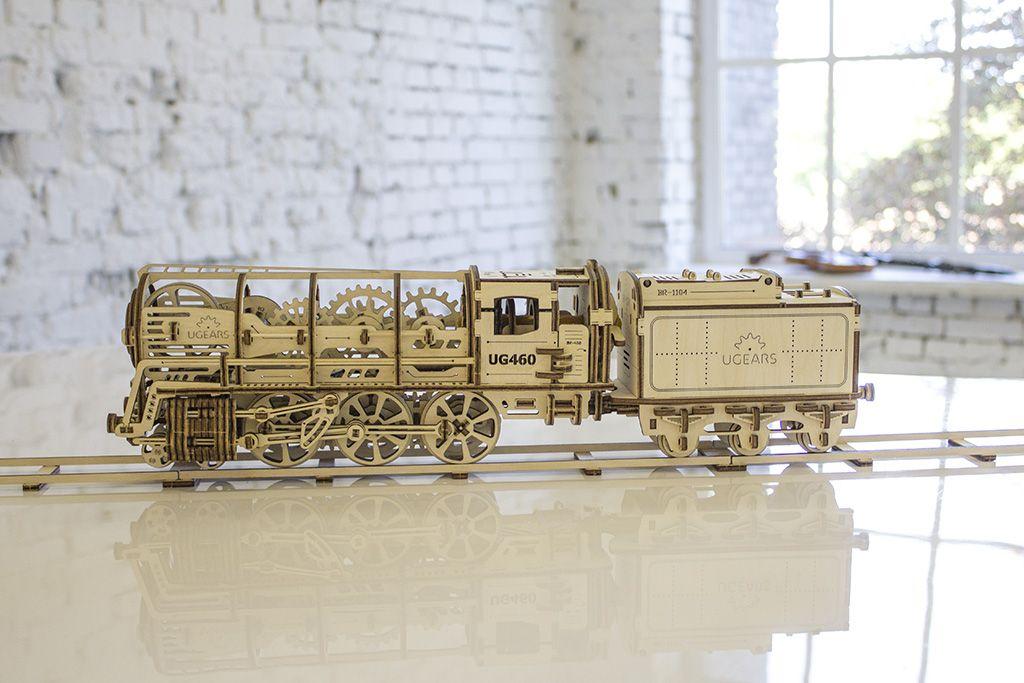 UGears Models — Mechanical Models TRAIN | Дизайн ‼ Design
