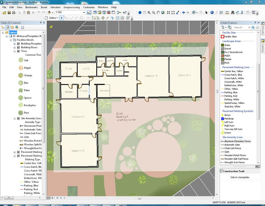 Image result for easy maintenance common amenities plan - site plan template