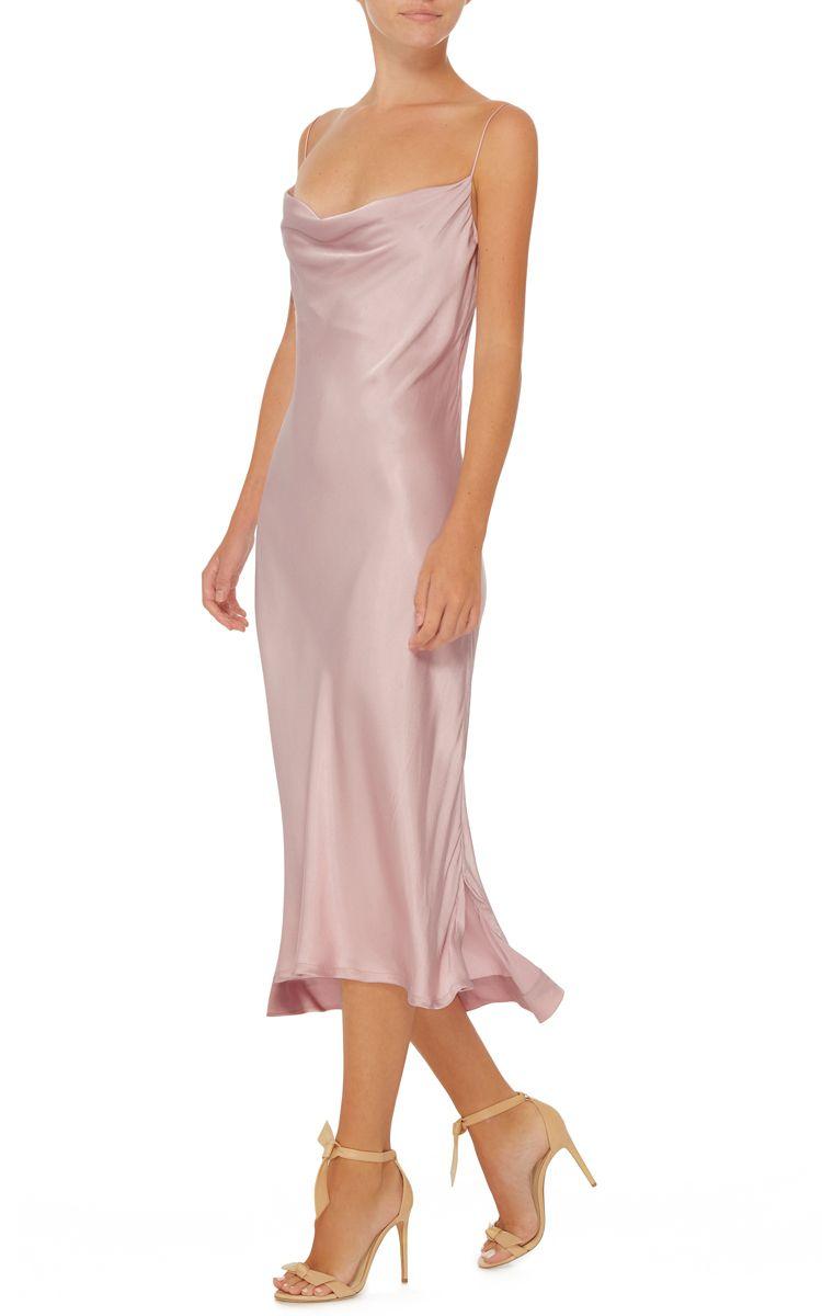 best website cheap prices shopping Protagonist Draped Slip Dress   One sleeve dress, Dresses, Fashion