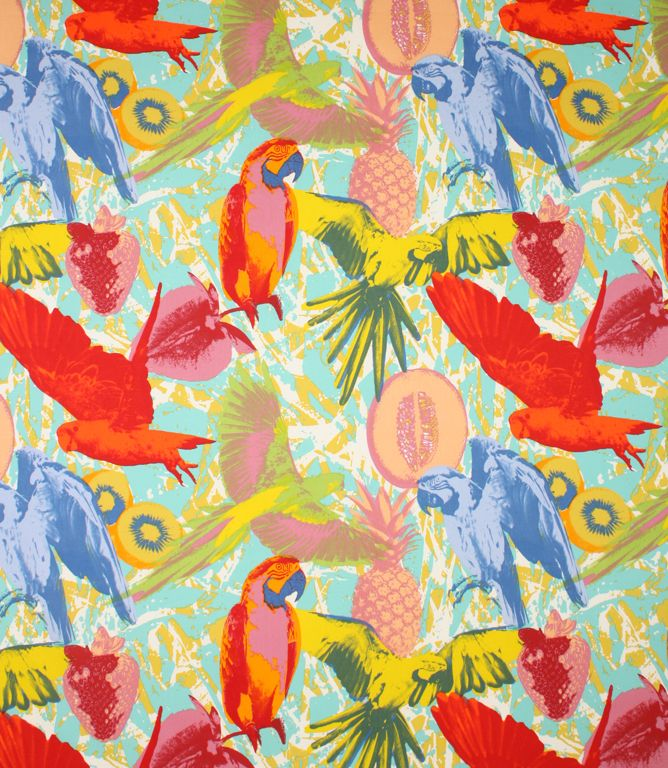 Tropical birds, Jungles and Fabrics