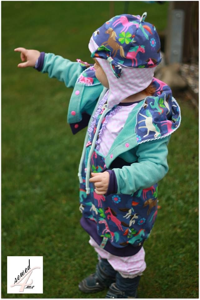 Nähanleitung: Bolero Jäckchen | Schnittmuster für Kinder | Pinterest ...