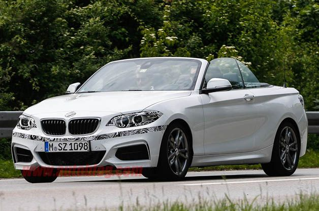 BMW almost ready to roll out new 2 Series cabriolet