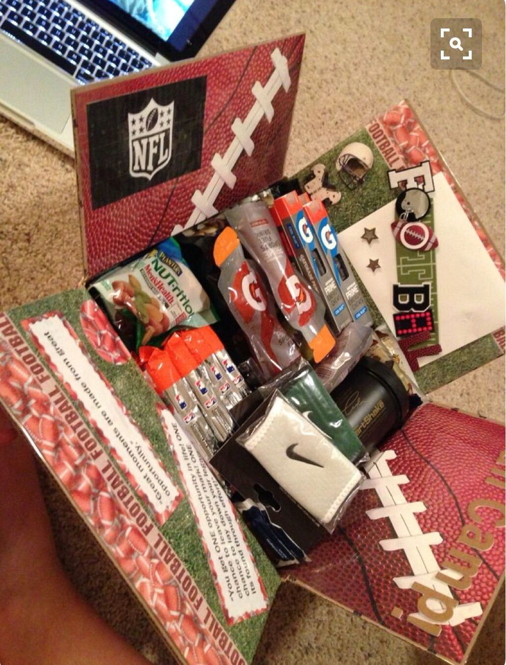 pin by clarissa flores on cute boyfriend ideas | gifts, football