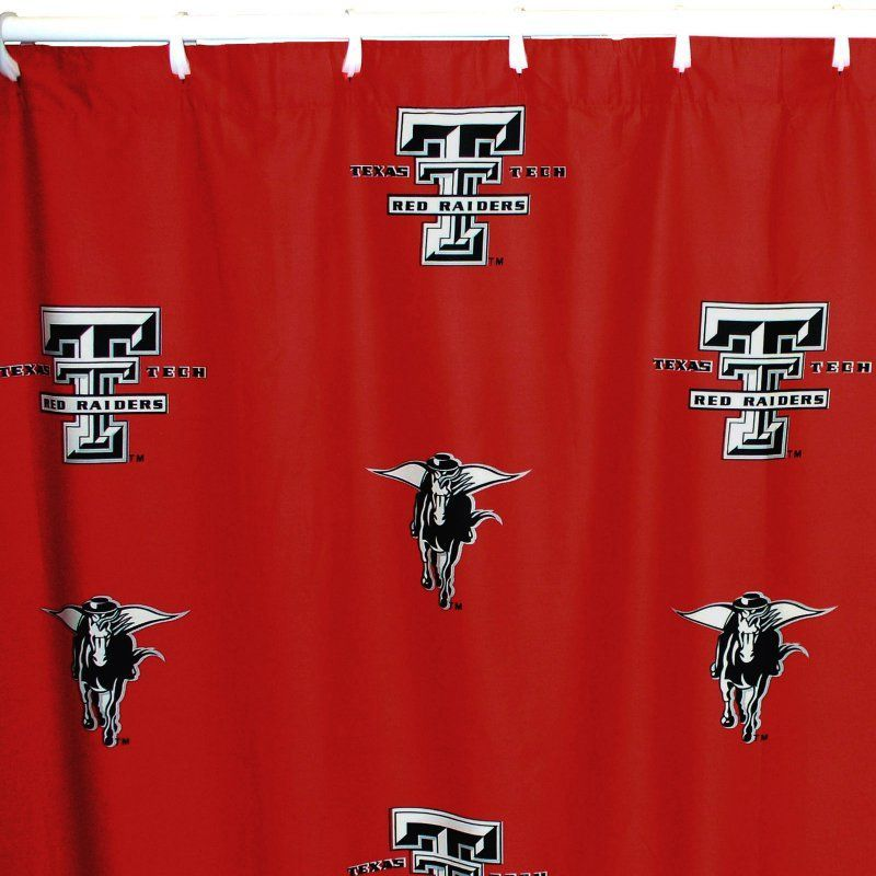 College Covers Collegiate Printed Shower Curtain Cover 70 X 72