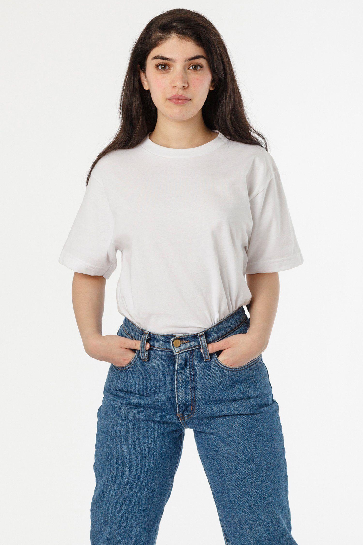 2017 Unisex 6 0oz Crew Neck Heavy Combed Cotton T Shirt In 2020 Cotton Tshirt Combed Cotton Clothes Design