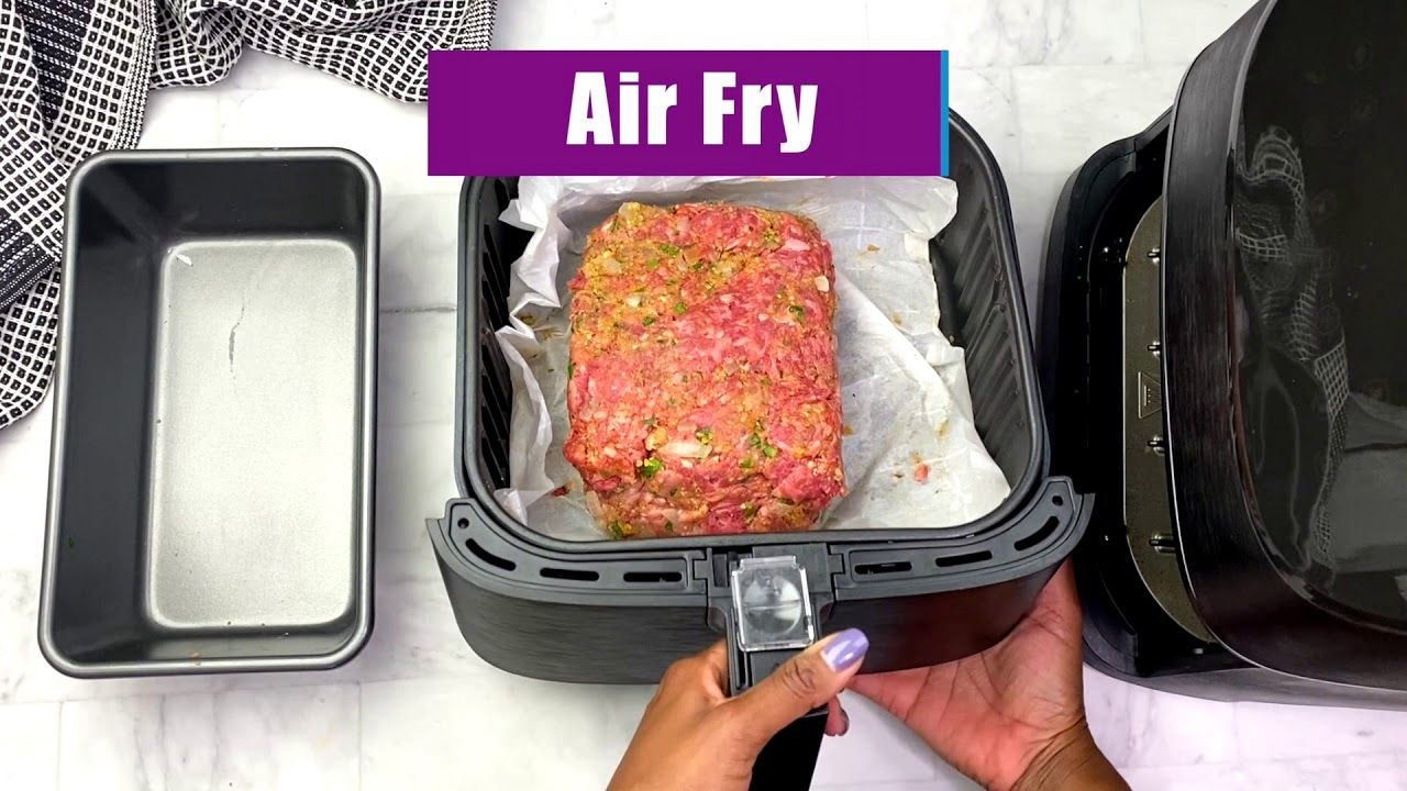 How to Make Air Fryer Meatloaf in 2020 Meatloaf