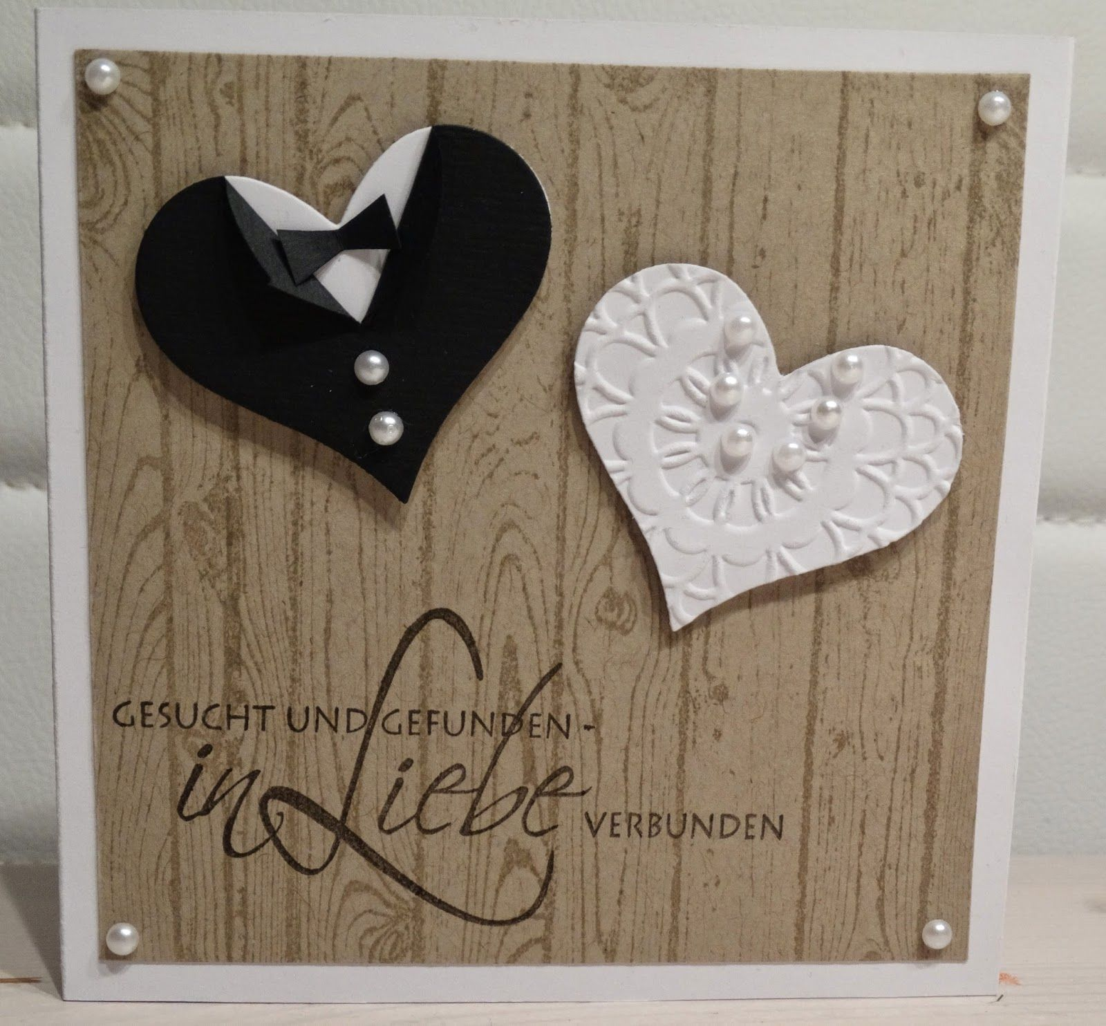 Handmade With Love Invitations And Cards Karte Hochzeit