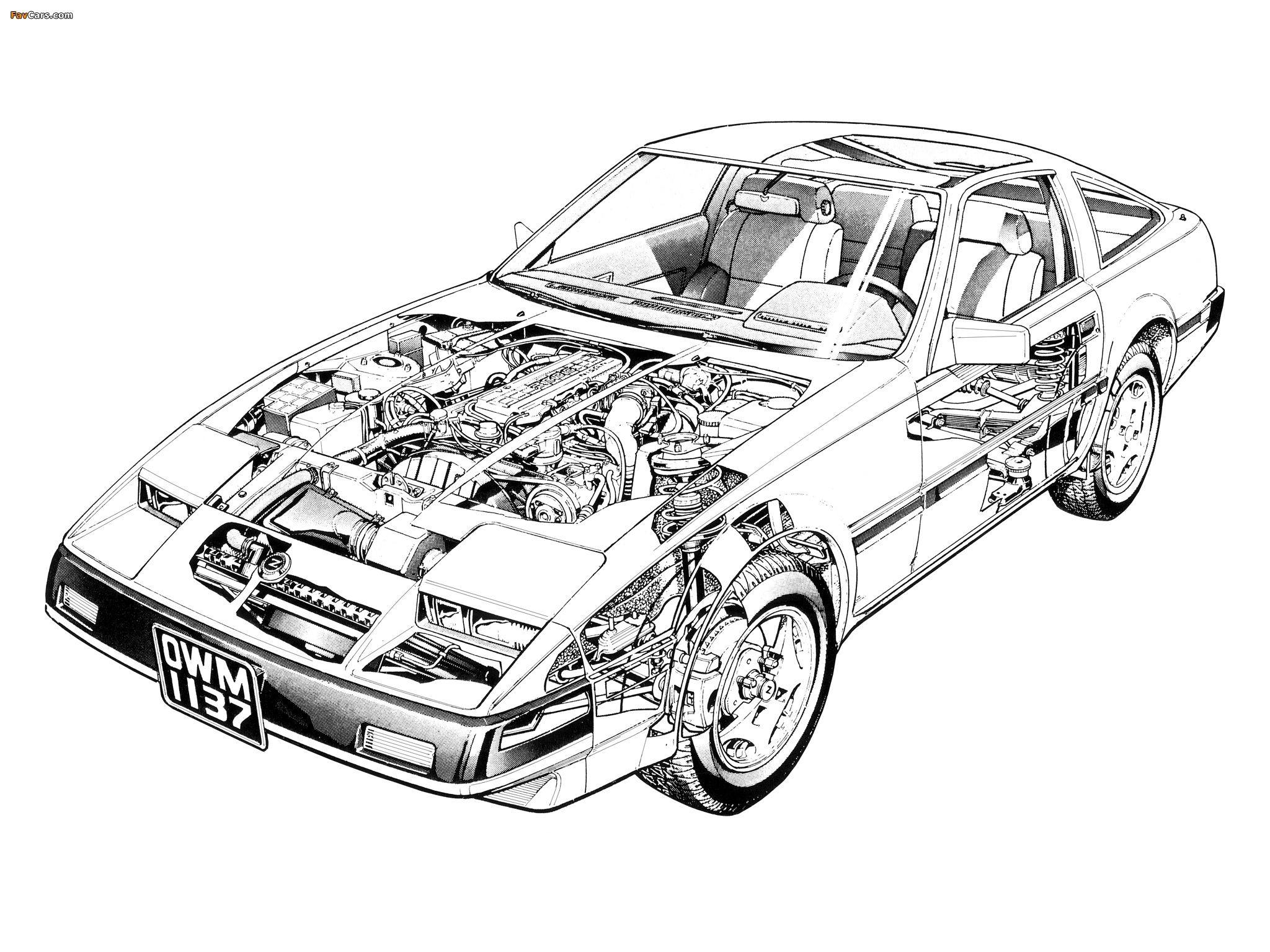 Nissan 300zx Z31 1983 89 Wallpapers Nissan 300zx Nissan Cool Cars