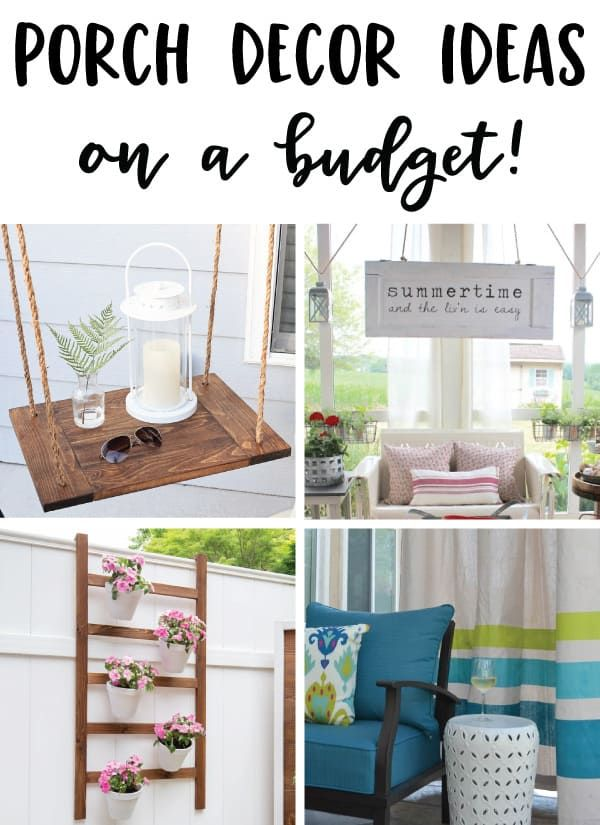 9 Screened in Porch Decorating Ideas on a Budget - Angela Marie Made