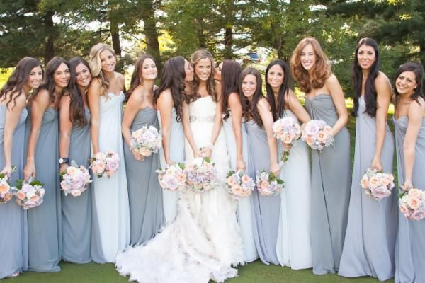 Dessy bridesmaid dresses real weddings pictures