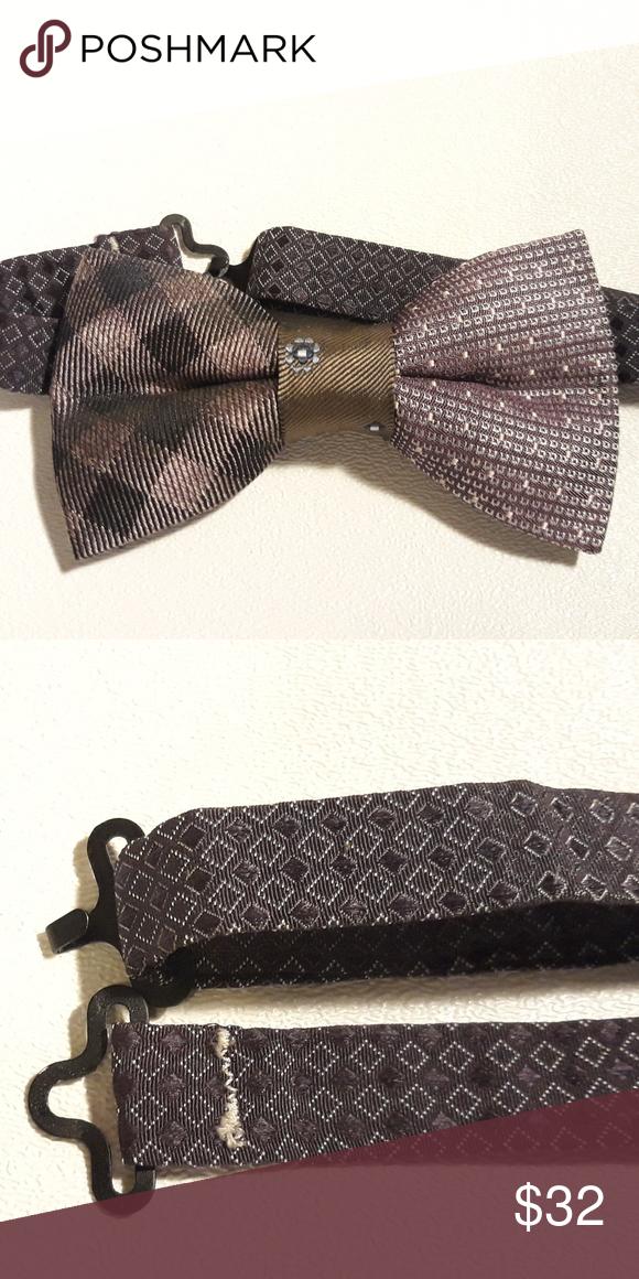 64b58c1f3155 Just Josh Toddler Adjustable Silk Bow Tie Unique handmade toddler silk pre-tied  bow tie
