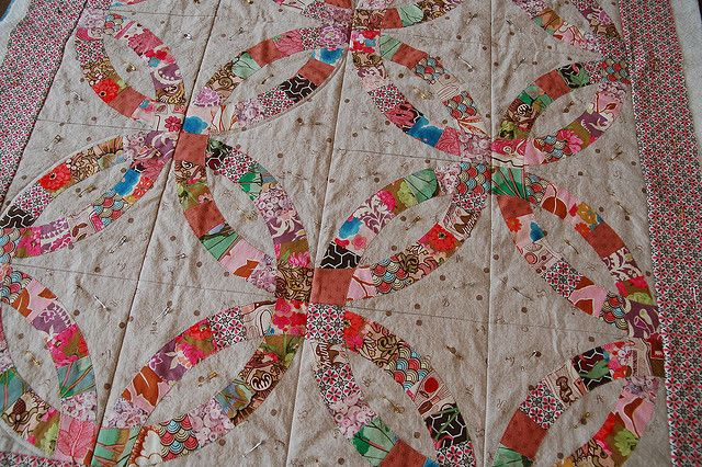 double wedding ring quilt | Double Wedding Ring Quilt class | Flickr - Photo Sharing!