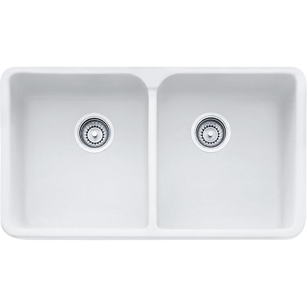 Manor House 31 1 4 Fireclay White Apron Front Kitchen Sink