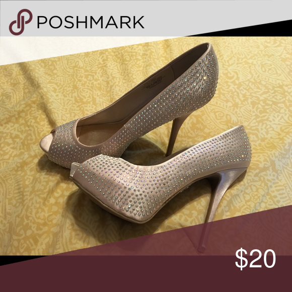 8711c6f9149 J Lo - crystal heels Beautiful Jennifer Lopez heels - only wore once - I  bought