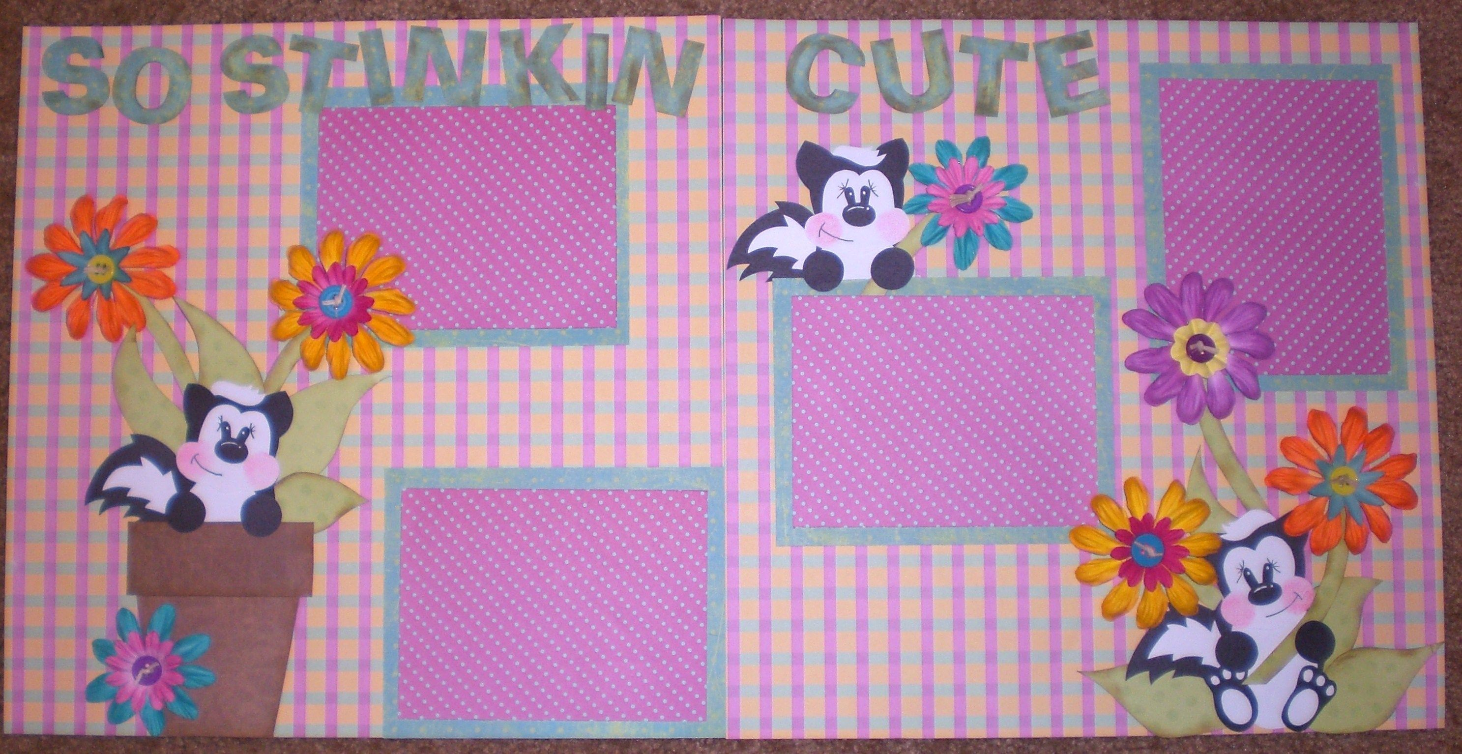stinkn cute - Scrapbook.com