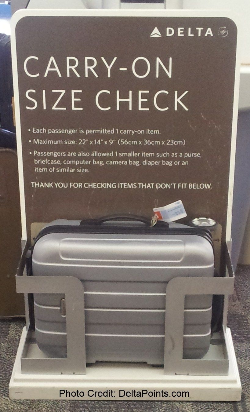 What Is The Real Delta Carry On Size Check Maximum Size Here Are The Tested Numbers Renes Points Carry On Bag Size Carry On Size Best Carry On Bag