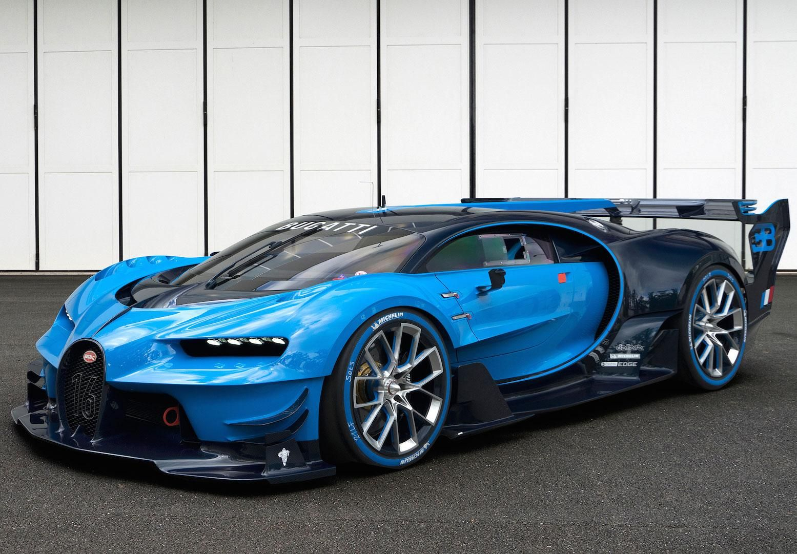 Making Bugatti S Hyper Performance Concept Car The Vision Gran Turismo Fast Sports Cars Bugatti Cars Bugatti Chiron