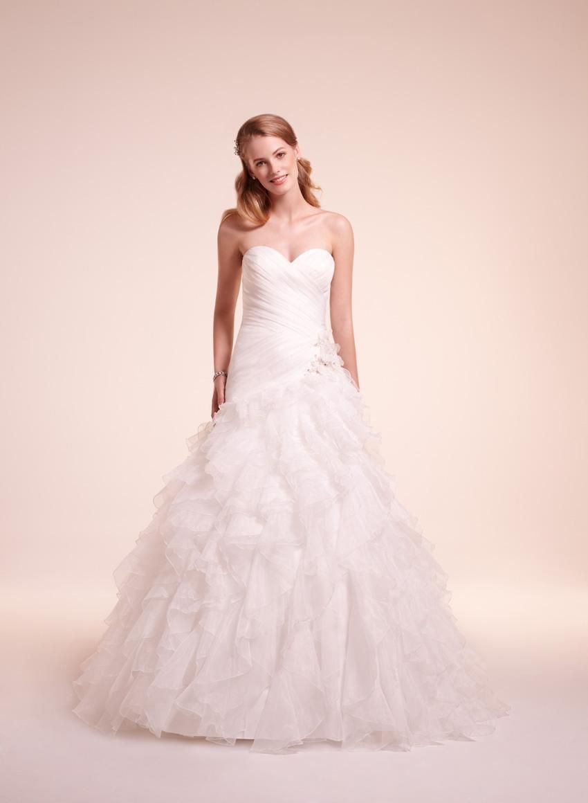 Bridal Gowns: Alita Graham A-Line Wedding Dress with Sweetheart ...