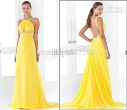 Online Shop Best-selling Elegance!2013 New Sexy Open Back Beaded Bands Evening dresses Party dresses Prom Dress|Aliexpress Mobile