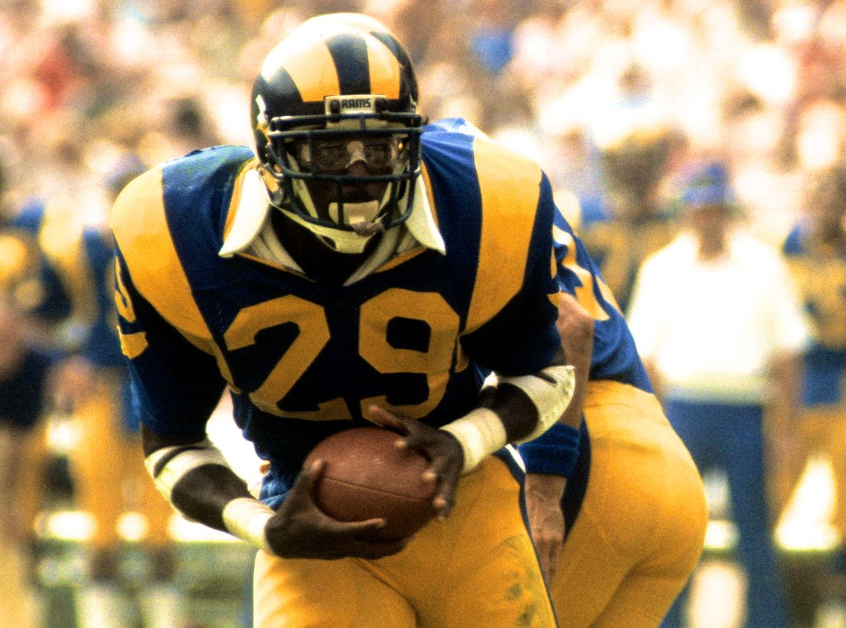 AllTime AllRookie Team Eric dickerson, Nfl football