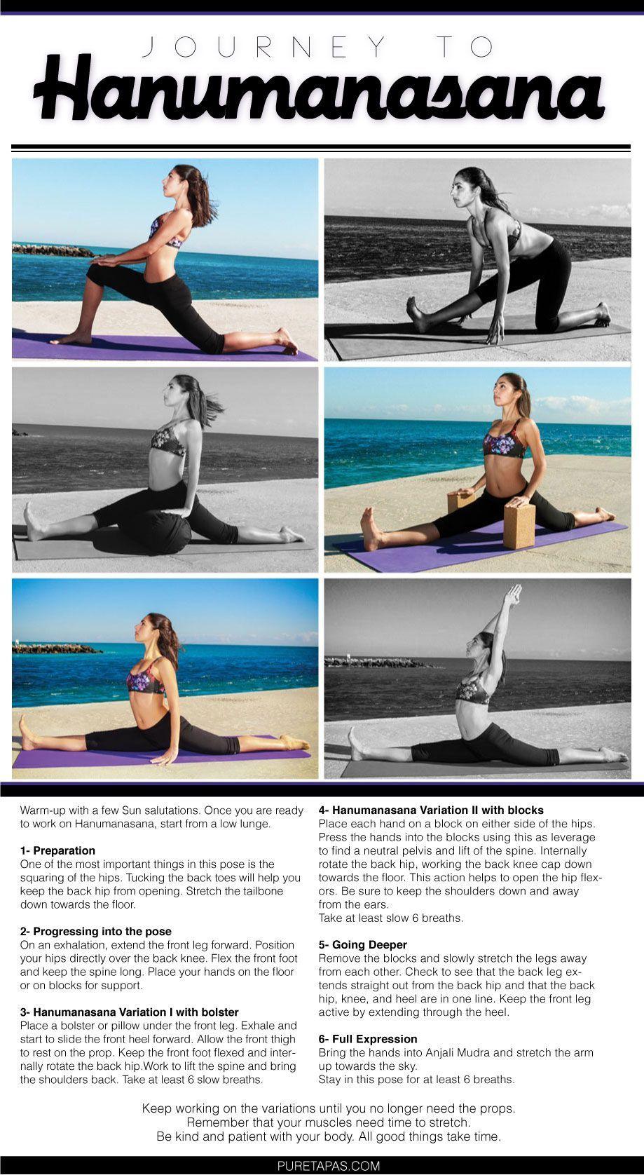 Hanuman More Inspiration And Yoga Tips Facebook Com Puretapas Jessica Yogatips102 Yoga Postures Yoga Tips Yoga Asanas