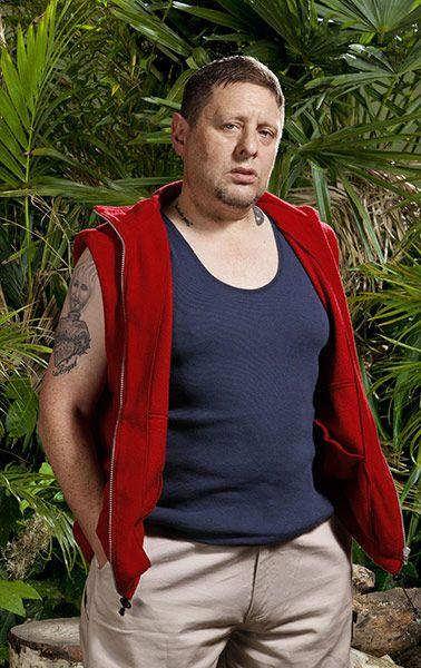 UK I'm a celebrity Jungle photo shoot Shaun Ryder