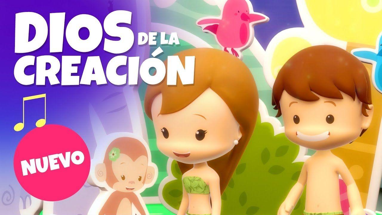 Dios De La Creación Pequeños Héroes Canción Infantil Youtube Canciones De Niños La Creacion Para Niños Canciones Infantiles