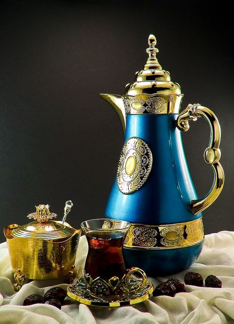 Arabian Tea Set ⋘ Arabian Style ⋙ Pinterest Teas