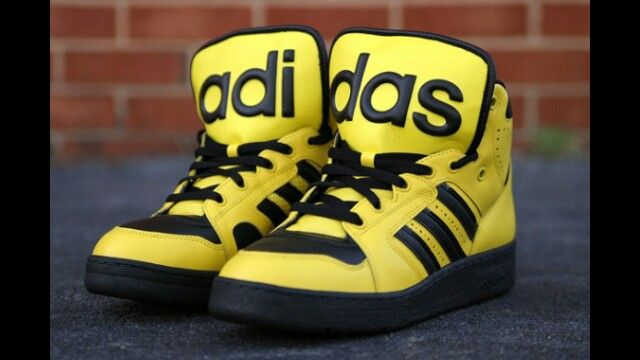 4ad12573c8d86 Jeremy Scott x adidas - Shaka Ponk shoes !